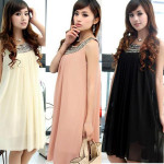 Pregnant Women Maternity Chiffon Summer Pleated Dresses Baby & Mother Care