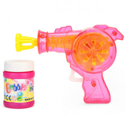 Shining Soap Bubble Water Gun Blower Child Outdoor Toys