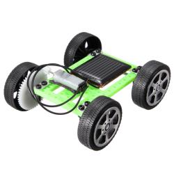 Solar DIY Pryl Bil Mini Pussel IQ Pedagogisk Leksak