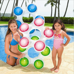 Summer Child Kid Inflatable Flower Swimming  Ring Child Armpits Rings