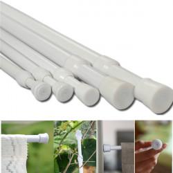 70-120cm Extendable Shower Curtain Pole Rail Rod Valance Hanger