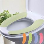 1 Par Mjuk Badrum Toalettsits Skydd Tvättbar Closestool Mat Badrum