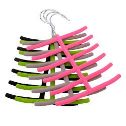Rack 1x Schals Krawatte Aufhänger Wandschrank Anti Rutsch Halter