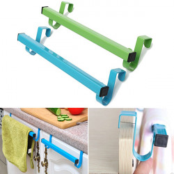24cm Space-saving Door Drawer Towel Hanger Bathroom Clothes Holder