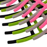 2X  Non Slip Scarf Tie Necktie Belt Rack Hanger Bathroom