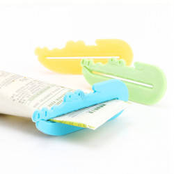 3 PCS Colorful Toothpaste Tube Squeezer Press Dispenser Bathroom