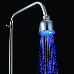 7 Color Changing 6 LED Light Automatic Control Shower Head