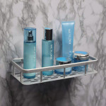 Alumimum Wall Mounted Storage Shelf Bathroom Sundries Rack Bathroom