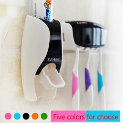 Badeværelse Automatisk Tandpasta Dispenser Squeezer Tandbørste Holder Sæt