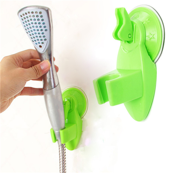 Badeværelse Stærk Monterbart Brusehoved Holder Movable Bracket Badeværelse