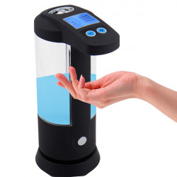 Bathroom Transparent Automatic Infrared Sensor Soap Dispenser