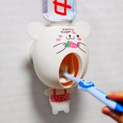 Tecknad Automatisk Tandkräm Dispenser Lätt Squeezer