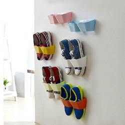 Kreative hängen Schuhregal Wand hängen außer Raum Schuhe Halter