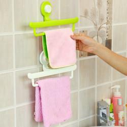 Kreative magische No Trace Sucker Bad Handtuch Einhängegestell
