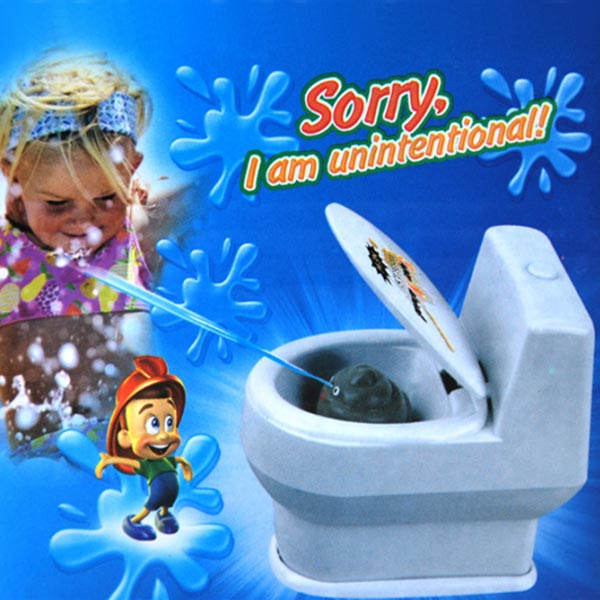 Funny Gift Water Spray  Small Toilet Bathroom