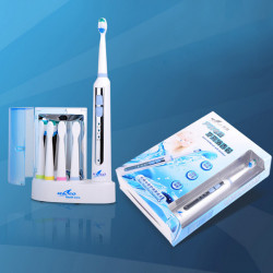 Inductive Charging Ultrasonic Electric Toothbrush With UV Sterilizer