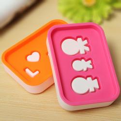 Dejlig Plast Badeværelse Sæbe Box Dish Holder Plate Kitchen