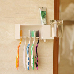 Multi-function Bathroom Toothbrush Gargle Toothpaste Holder