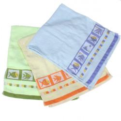 Nye Blød Bomuld Fisk Håndklæder til Yoga Spa Bath Wash Salon Gym 67x32cm