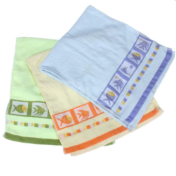 Neue weiche Baumwollfisch Handtücher für Yoga Whirlpool Waschsalon Gym 67x32cm Badezimmer