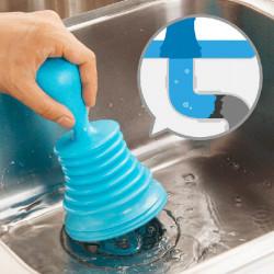 Pipe Stærk Suge Dredger Badekar Håndvask Badeværelse Kloak Renere