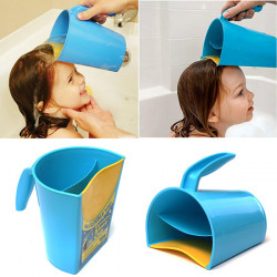 Plastic Baby Kids Child Shampoo Rinser Shower Cup Bath Pail