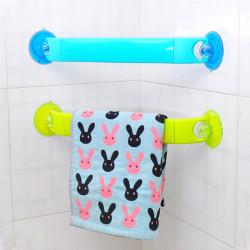 Leistungsstarke Sucker Handtuchwärmer Drehbare Badezimmer Corner Fachregale