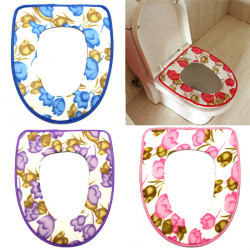 Soft Folding Padded Potty Toilet Mat Warmer Toilet Seat Cover