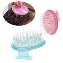 Soft Shampoo Massage Børste Scalp Bath Rengøring Hoved Kam