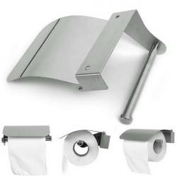 Stainless Steel Bathroom Roll Paper Tissue Holder Box