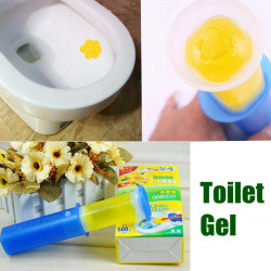 Toilet Cleaning Gel Gun With Fragrance