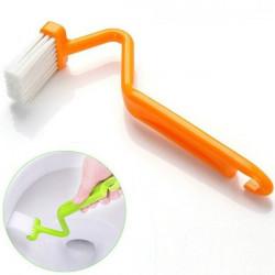 V Shape Toalettborste Handtag Bent Hushålllokalvårdprodukter Verktyg