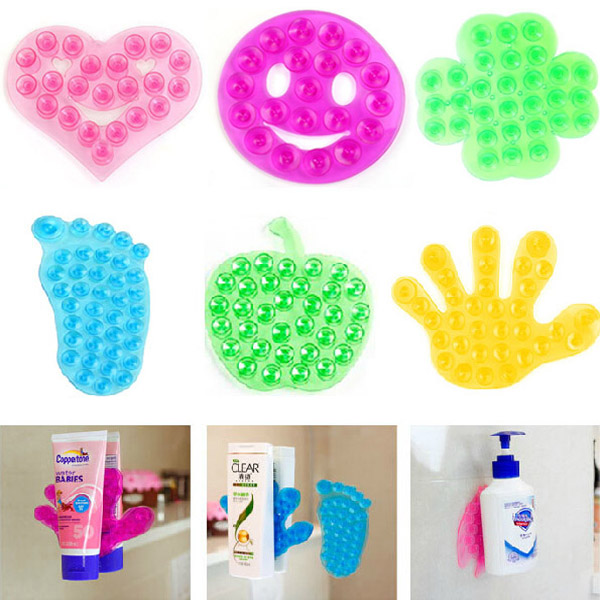 Variety Fashion Style Strong Double Sides Sucker Household Holder Bathroom