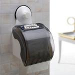 Waterproof Sucker Cup Roll Paper Rack Waterproof Tissue Box Holder Bathroom