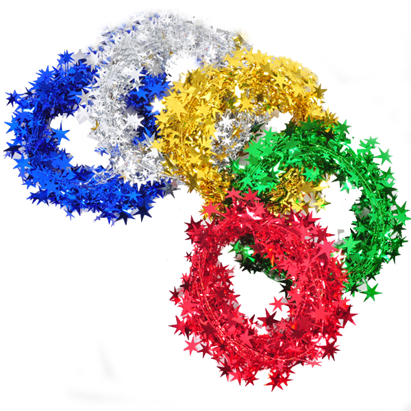 100cm Iron Stars Color Bar Strip Christmas Decoration Supplies Festival Gifts & Party Supplies