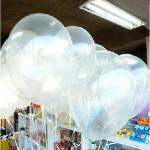 100stk Clear Fødselsdag Bryllupsfest Decor Transparent Balloner Festival Gaver & Festartikler