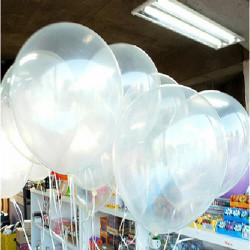 100st Clear Födelsedag Bröllopsfest Decor Genomskinliga Ballonger