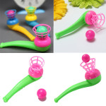 10Pcs Kids Children Air Suspension Ball Toy Blow Pipe And Balls Festival Gifts & Party Supplies