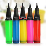 11inch Hand Held Dual Action Plastic Balloon Pump Inflator Mixed Color Festival Gifts & Party Supplies