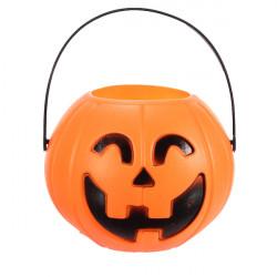 12cm Halloween Pumpagodisskål Halloween Dekoration Prop