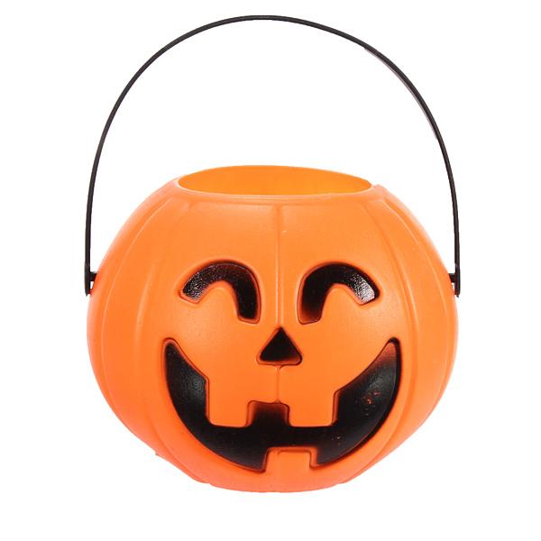 12cm Halloween Pumpkin Candy Jar Halloween Supplies Decoration Prop Festival Gifts & Party Supplies