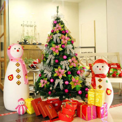 150CM Christmas Tree Combo Home Decoration Supplies With LED Light