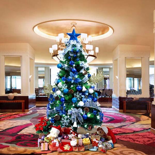 150CM Christmas Tree Combo Home Decoration With LED Light Festival Gifts & Party Supplies
