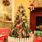 1.5m Luxuriöse Weihnachtsbaum beleuchtet Dekoration Paket Partyzubehör