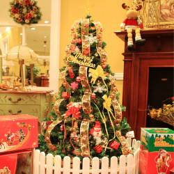 1.5m Luksuriøs Juletræ Lights Dekoration Pakke