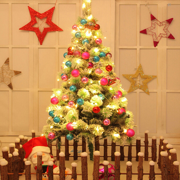 1.5m Luxury Christmas Decoration Snow Christmas Tree Package Festival Gifts & Party Supplies