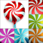 18 Inch Lollipops Candy swirl Birthday Party Decoration balloons Festival Gifts & Party Supplies