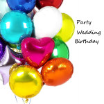 18inch Foil Helium Balloons Round Shape For Parties Celebration Festival Gifts & Party Supplies