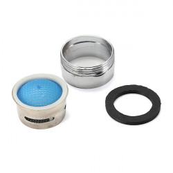 22mm männlich Tap Filter Verchromte Wassereinsparung Auslauf Diffusor