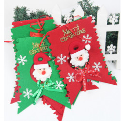 2M Christmas Decorations Hanging Flag Pennant Scene Ornaments